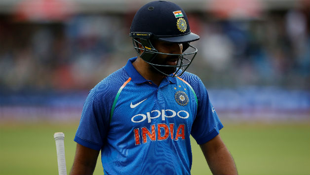 Rohit Sharma scored his 17th ODI hundred in 106 balls © AFP