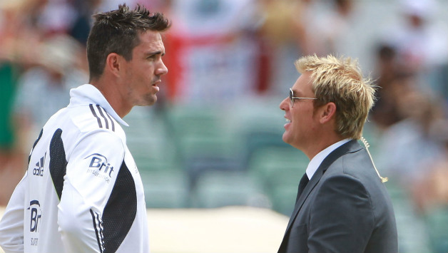 Kevin Pietersen and Shane Warne © Getty Images