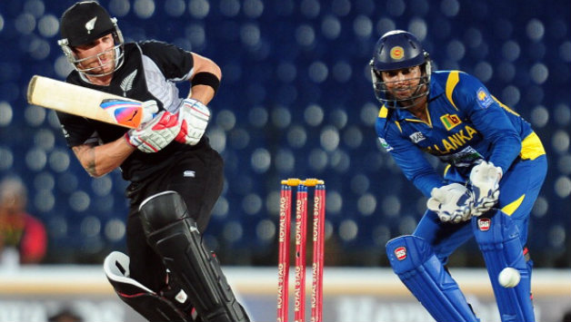 Brendon McCullum (left) and Kumar Sangakkara will play for Lahore Qalandars and Multan Sultans respectively (Image courtesy: AFP)