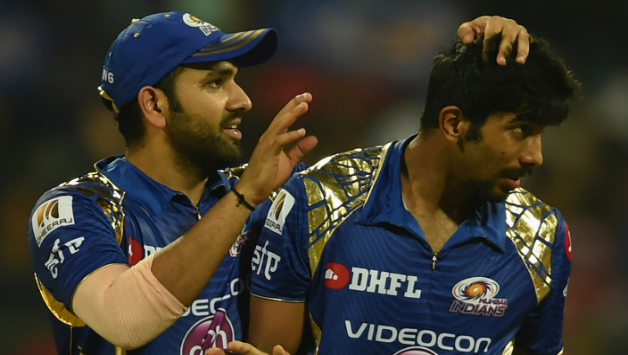 Rohit Sharma and Jasprit Bumrah © AFP