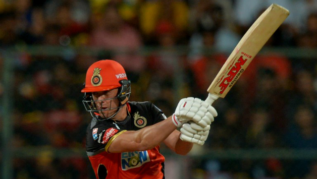 AB de Villiers led from the front with a sublime 57 © AFP