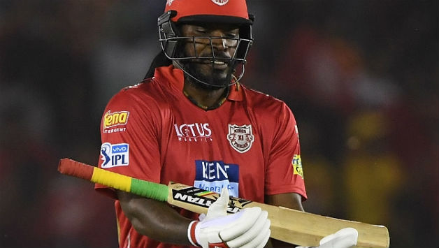 Chris Gayle scored his 22nd IPL fifty in 22 balls © AFP