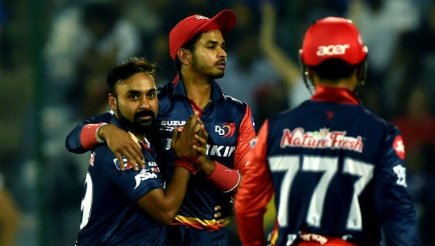 Delhi Daredevils (DD) hammered Kolkata Knight Riders (KKR) in their reverse tie © AFP