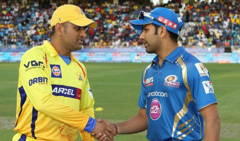 MS Dhoni (L) and Rohit Sharma will lead Chennai and Mumbai respectively © BCCI