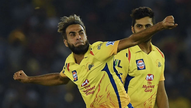 Imran Tahir claimed 2 wickets in 2 balls to down KXIP's batting © AFP