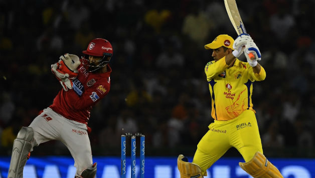 MS Dhoni singlehandedly took Chennai Super Kings home scoring _ *  © AFP