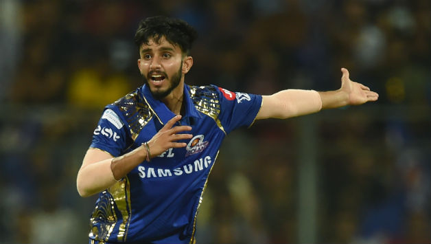 Mayank Markande picked wickets of MS Dhoni, Ambati Rayudu and Deepak Chahar on Indian T20 League debut © AFP