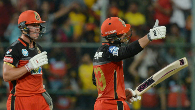 AB de Villiers and Quinton de Kock added 101 runs for the third wicket © AFP
