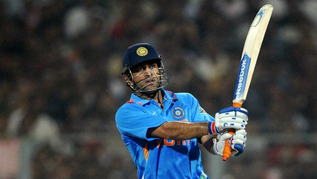 How many times has MS Dhoni finished a match with six? - Cricket ...