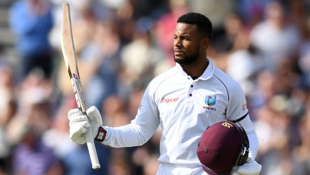 West Indies need runs from Shai Hope desperately.