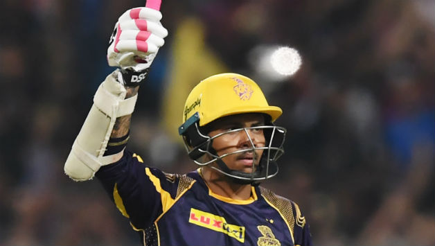 Sunil Narine scored his second Indian T20 League fifty in 17 balls. He provided Kolkata a brisk start © AFP