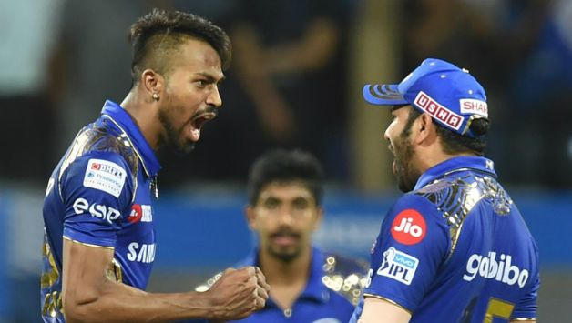 Hardik Pandya accounted for 3 scalps and a run-out © AFP