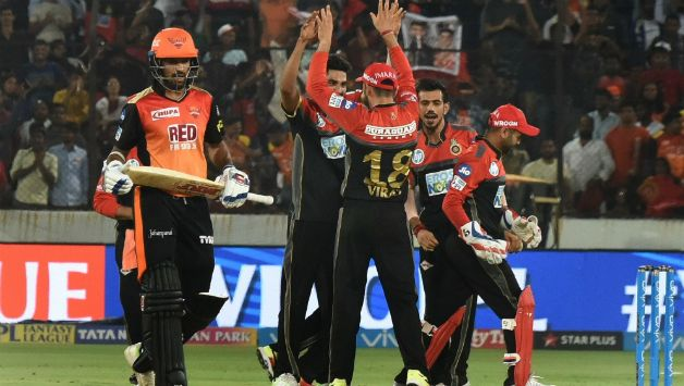 Royal Challengers Bangalore' bowlers led from the front © AFP