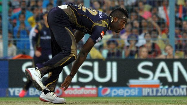 Andre Russell took 3 for 41 to dent KXIP chase © IANS