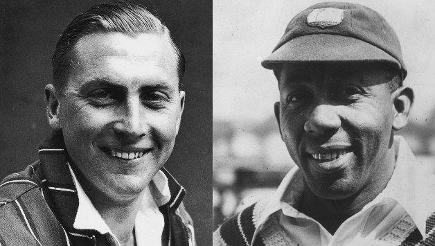 Harold Gimblett (left) and Learie Constantine © Getty Images
