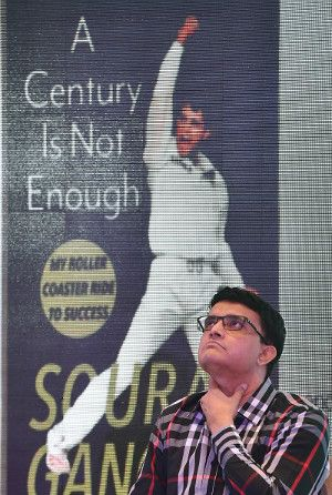 Sourav Ganguly, India, A Century Is Not Enough