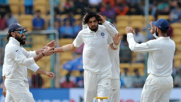 Ishant Sharma is third on the list of most wickets by Indian pacers in Test © AFP