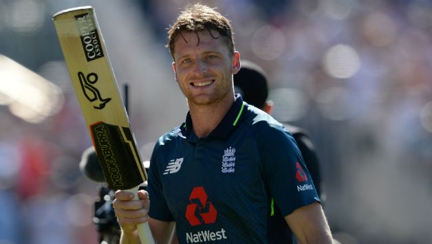 Jos Buttler won the game for England with his knock of 110* © Getty Images