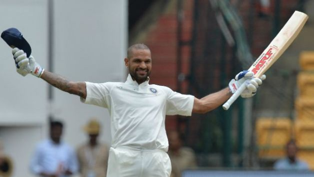 Shikhar Dhawan became the only Indian to score ton before lunch © AFP