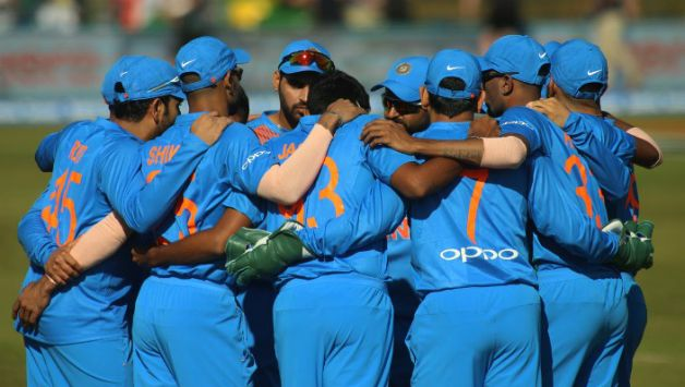 Team India comfortably won the match by 76 runs © AFP
