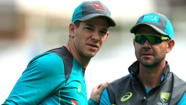 Tim Paine and Ricky Ponting © Getty Images