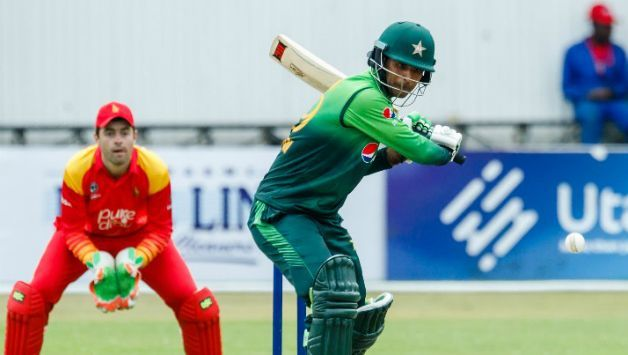 Fakhar Zaman was Player of the Series in Pakistan's T20I win in Zimbabwe