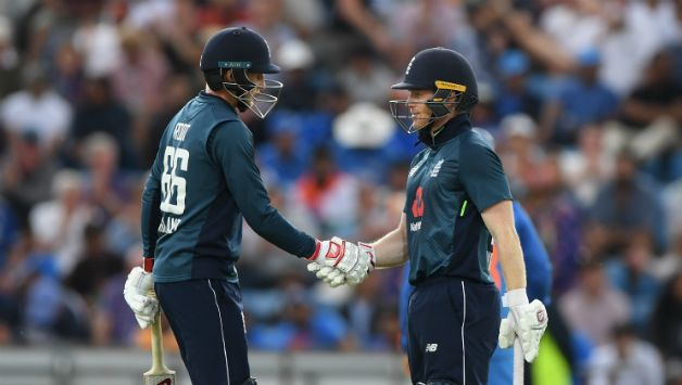 Joe Root and Eoin Morgan added 186 runs to the 4th wicket partnership    Getty Images