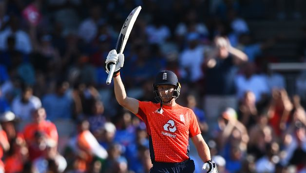 Jos Buttler smashed 69 off 46 to take England to a competitive total © Getty Images