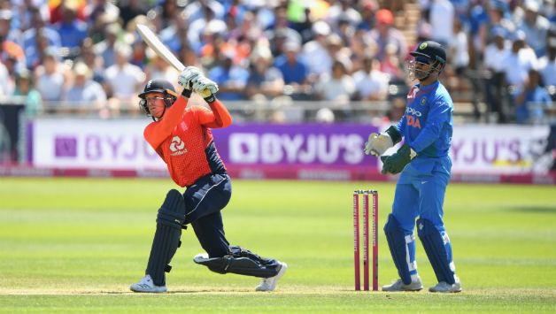 Jason Roy recorded joint second fastest 50 for England in 23 balls © Getty Images