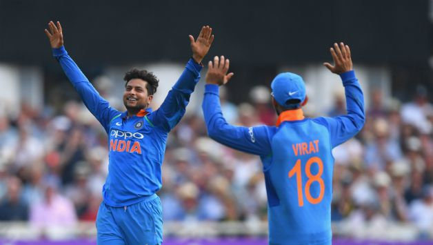 Kuldeep Yadav finished with impressive figures of 10-0-25-6 in the 1st ODI © Getty Images