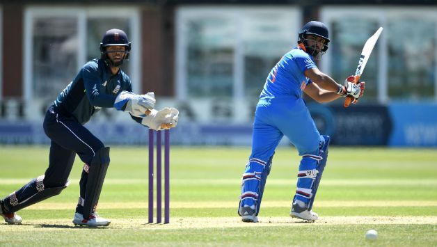 Rishabh Pant played a quick innings of 67* off 71 to win it for India © Getty Images