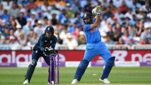 Rohit Sharma smaashed his century in only 82 balls © Getty Images