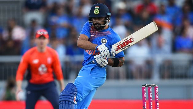 Virat Kohili is 20 runs behind Shoaib Malik to seal the 3rd spot on the all-time list of T20I run-getters © Getty Images