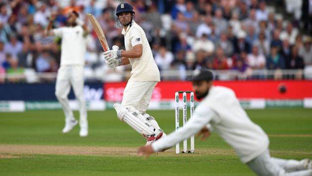 Alastair Cook edges one to slip