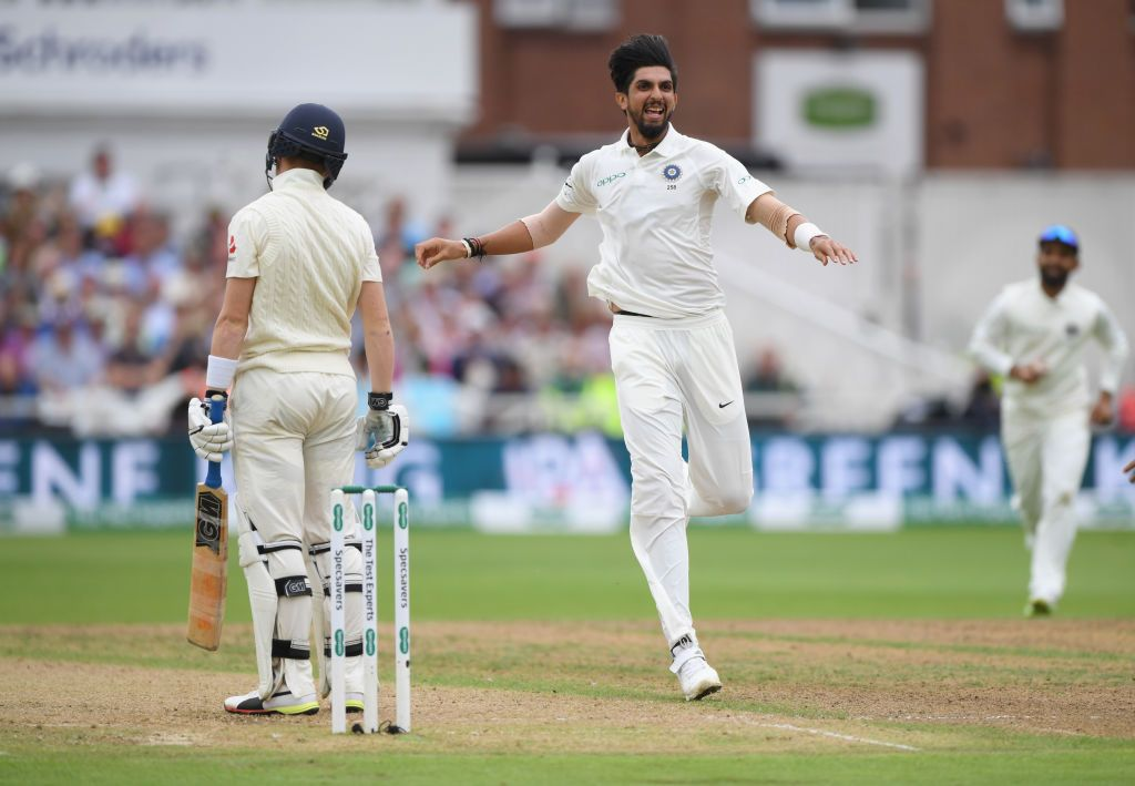 Ishant Sharma finished the series with 18 wickets, the best for an Indian bowler