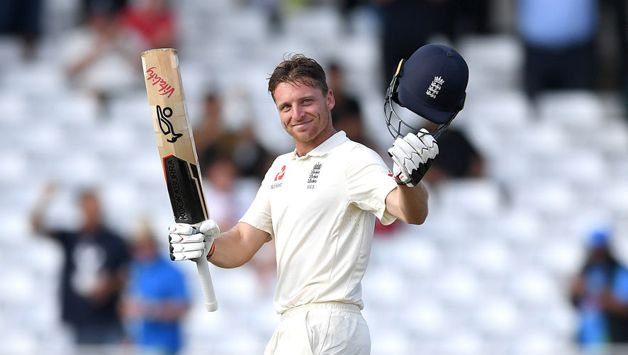 Buttler got to his maiden Test 100 with a flick off Mohammed Shami