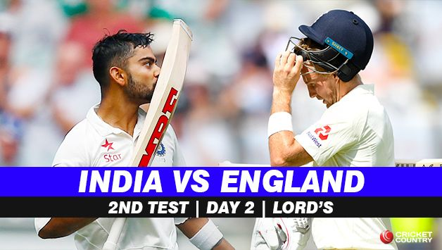 Highlights India Vs England 2nd Test Day 2 Full Cricket