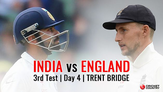 India vs England, 3rd Test, Day 4