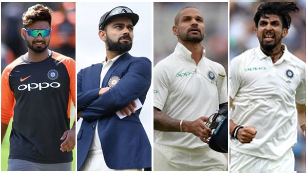 Alongside skipper Virat Kohli and now a Test regular, Ishant Sharma, Pant and Dhawan make it four players from India's capital in a single Test.