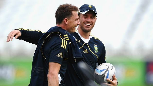 Dale Steyn and AB de Villiers © Getty Image (File Picture)