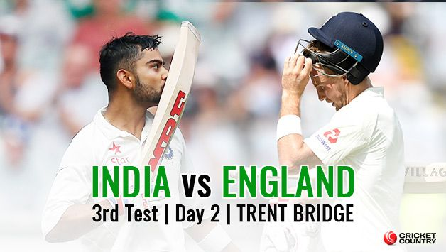 India vs England, 3rd Test, Day 2: LIVE cricket score of India vs England at Trent Bridge. News, latest updates, live streaming, coverage and highlights.