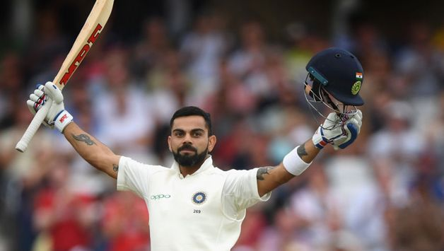During his knock, Kohli went past the 50-run mark in each innings of a Test for the ninth time and when he got to 63