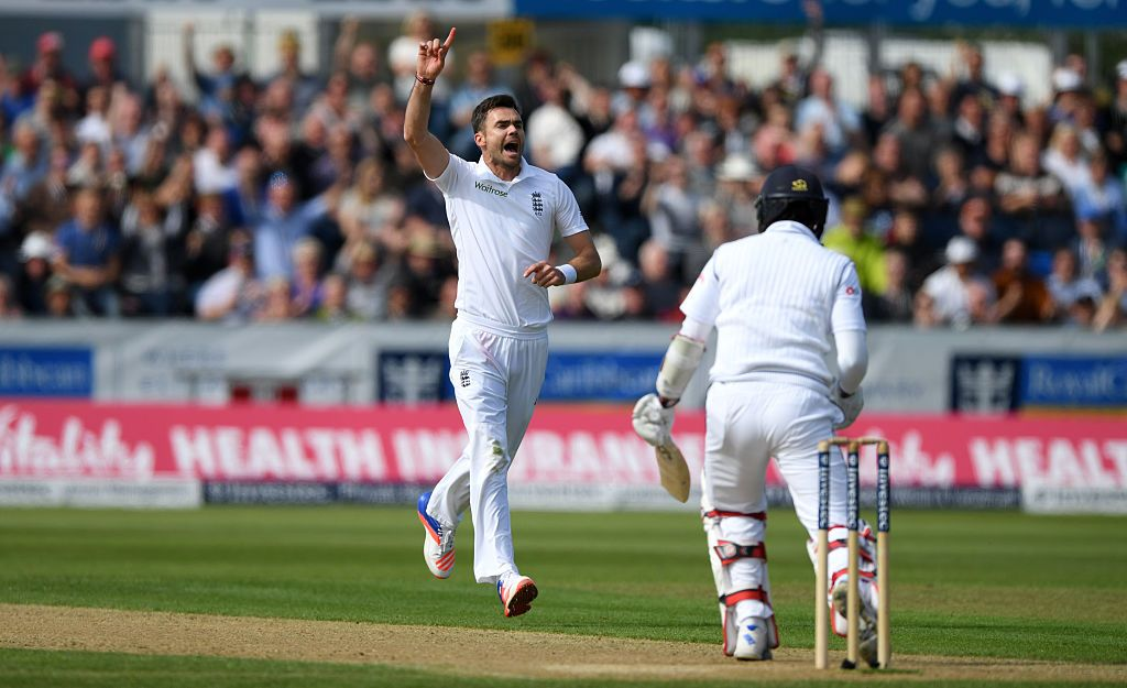 James Anderson has had the most success at home.