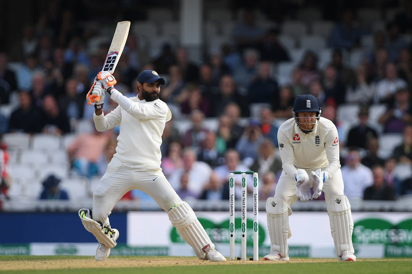 Ravindra Jadeja showed an appetite for a scrap in his only Test.