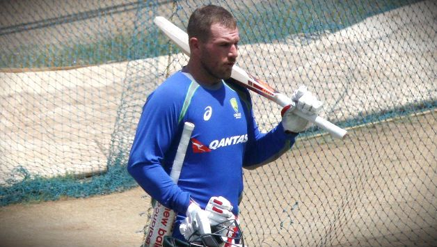 Aaron Finch is slated to make a very belated Test debut.