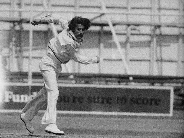 BS Chandrasekhar took 12 wickets at the MCG in 1977-78.