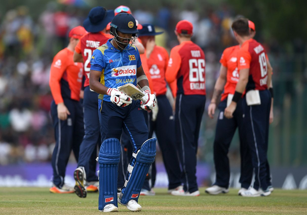 Dinesh Chandimal's last ODI fifty was in March 2017.