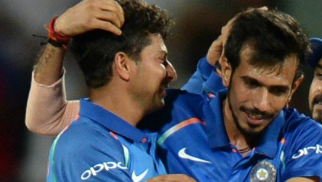 Kuldeep Yadav and Yuzvendra Chahal have 87 wickets between themselves in 23 ODIs. © AFP