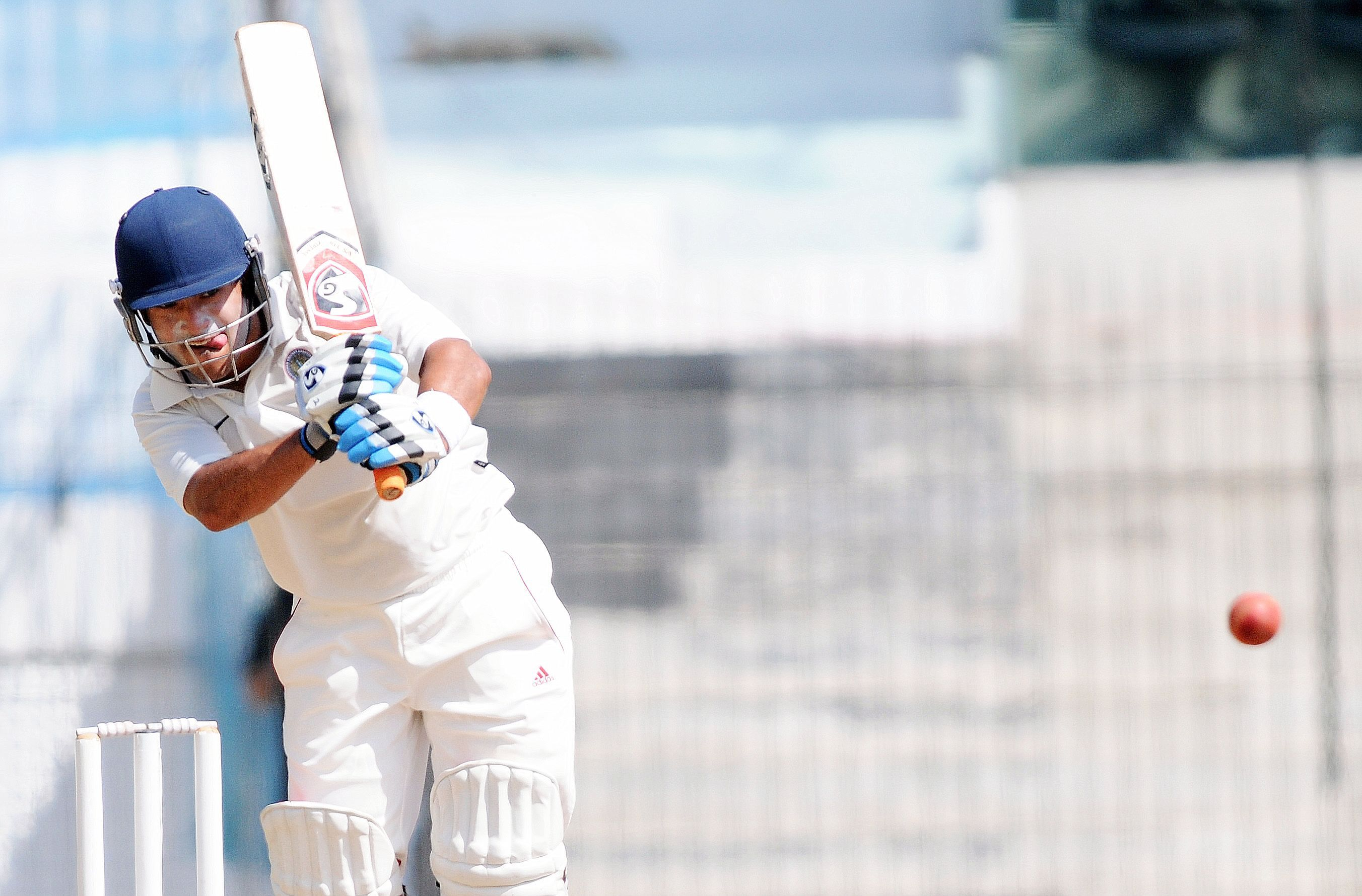 Robin Bist is nearing the milestone of 100 first-class matches