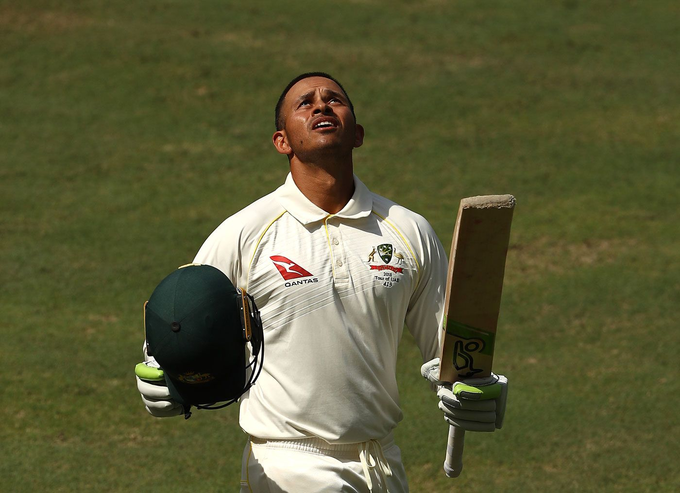 Usman Khawaja's eight-hour, 44-minute 141 helped Australia escape defeat to Pakistan